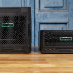 HPE ProLiant MicroServer Gen10 Plus And Gen10 Front