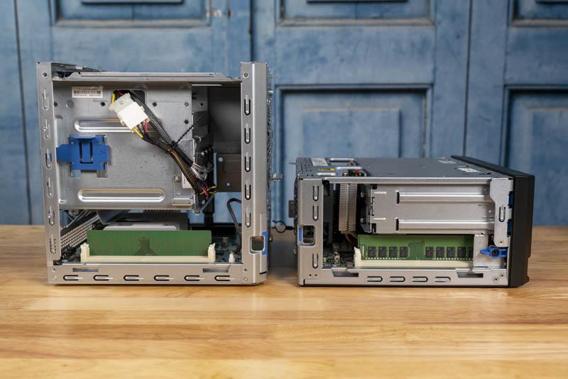 HPE ProLiant MicroServer Gen10 Plus And Gen10 Ram Side