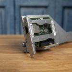 HPE ProLiant MicroServer Gen10 Plus ILO Enablement Kit In Its Riser Slot