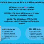 Kioxia CD6 And CM6 Availability 1