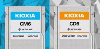 Kioxia CM6 CD6 Cover Image