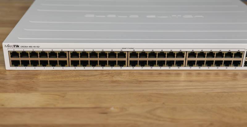 MikroTik CRS354 48G 4S_2Q_RM 48x 1GbE Ports