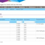Netgear MS510TX Port Status