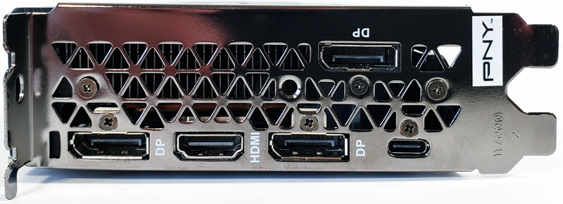 PNY RTX 2080 Ti Blower Outputs