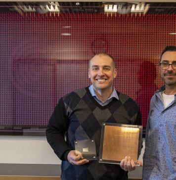 Patrick And Andrew Feldman With Cerebras WSE