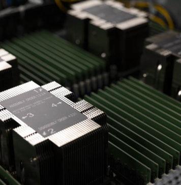 Supermicro 2049P TN8R CPU Area Dark