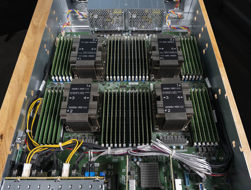 Supermicro 2049P TN8R Internal CPU Area Memory