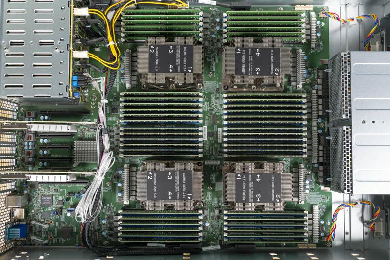 Supermicro 2049P TN8R Internal Overview