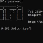 Ubiquiti USW Leaf CLI Login Via SSH