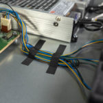 Ubiquiti USW Leaf Switch Taped Fan Cables