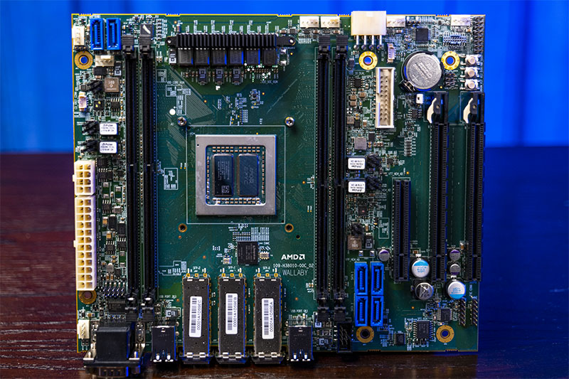 AMD EPYC 3x51 Dual Die Wallaby Platform