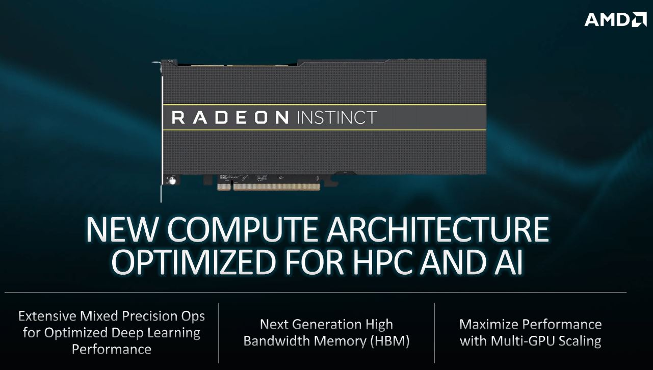 AMD Radeon Instinct For El Capitan