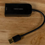 CableCreation 2.5GbE USB 3 Adapter Top