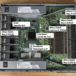 Edgecore AS7712 32X Internal Overview Big Chips Labeled
