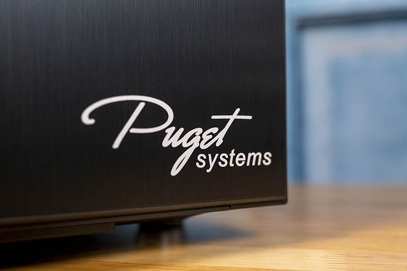 Puget Systems Xeon W 2295 Workstation Front