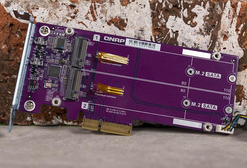 QNAP QM2 2S Dual M.2 SATA SSD PCIe Card