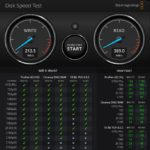 Seagate One Touch 500GB Blackmagic Speed Test