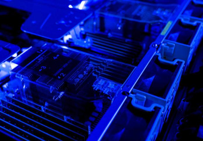 Supermicro 2029UZ TN20R25M Cover Blue