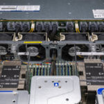 Supermicro 2029UZ TN20R25M Fans And NVMe Backplane