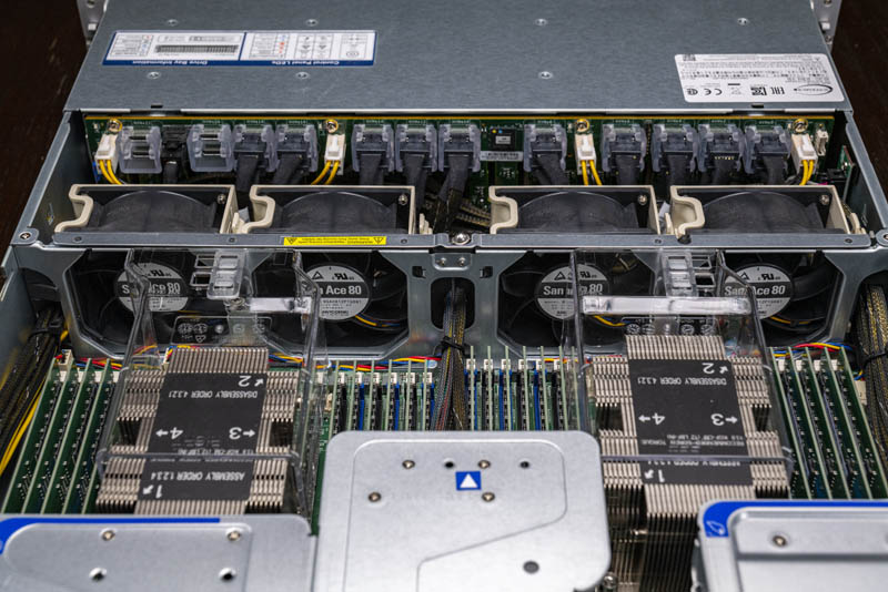 Supermicro 2029UZ TN20R25M Rear IO And 25GbE