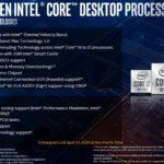 10th Gen Intel Core Desktop Features