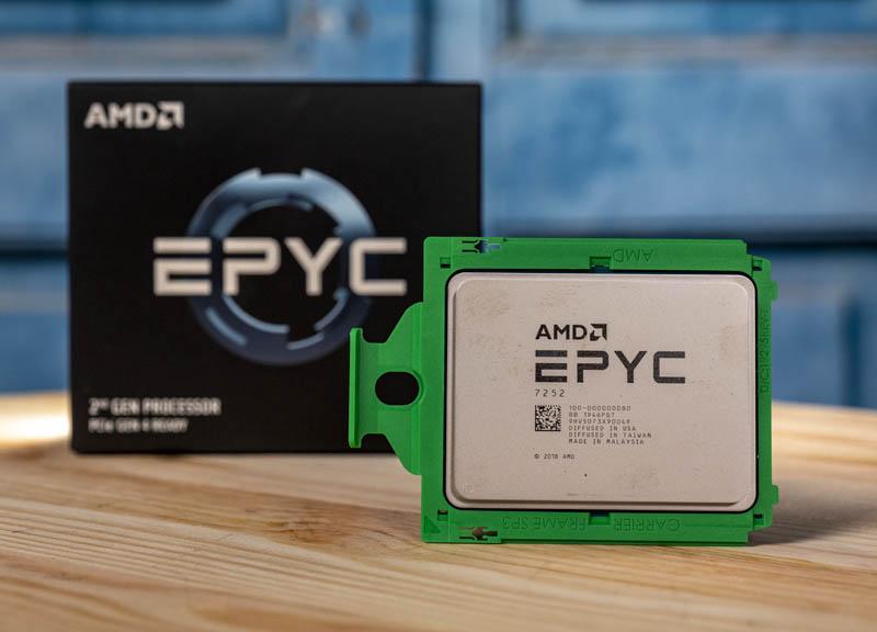 AMD EPYC 7252 Cover