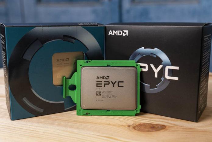 AMD EPYC 7F52 Cover