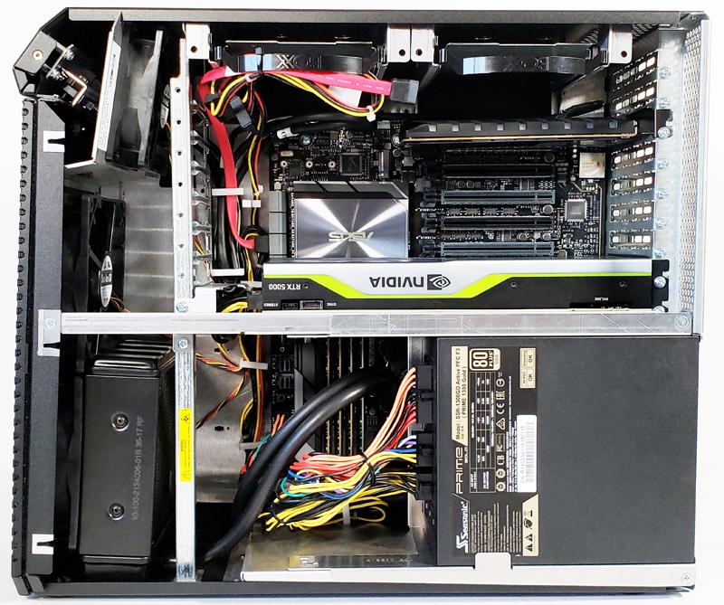 BOXX APEXX W3 Class Workstation Side