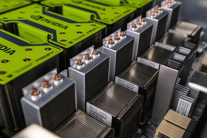Inspur NF5488M5 HGX 2 Board NVSwitch Heatsink