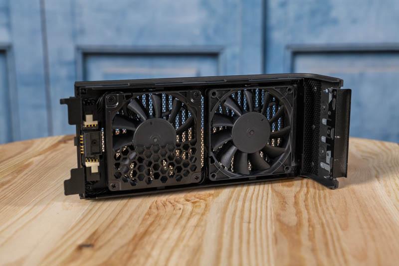 Intel NUC9VXQNX Quartz Canyon NUC Chassis Fans
