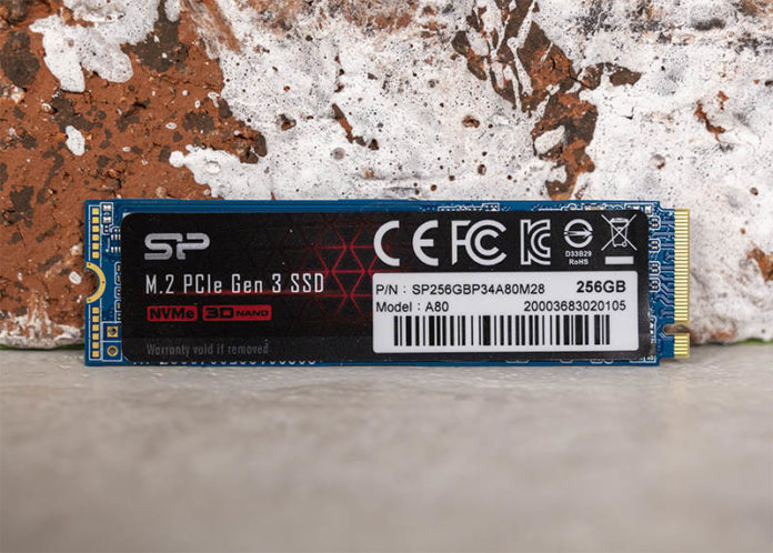 Silicon Power A80 256GB M.2 NVMe Cover