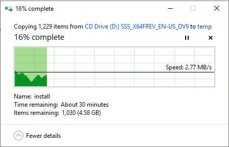 X470D4U BMC Copy Speed