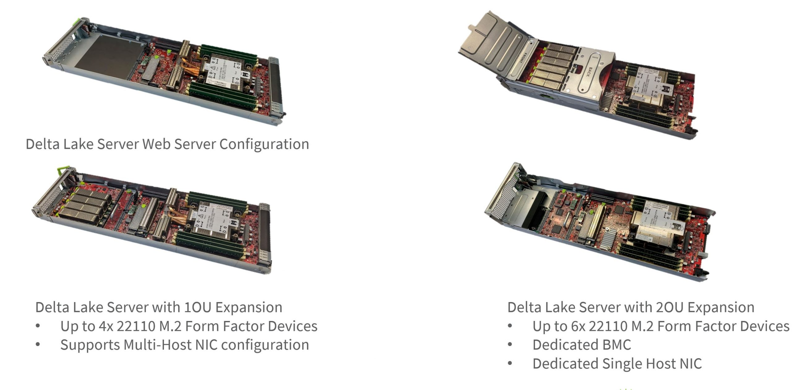 Facebook OCP Delta Lake Cooper Lake Four Expansion Views
