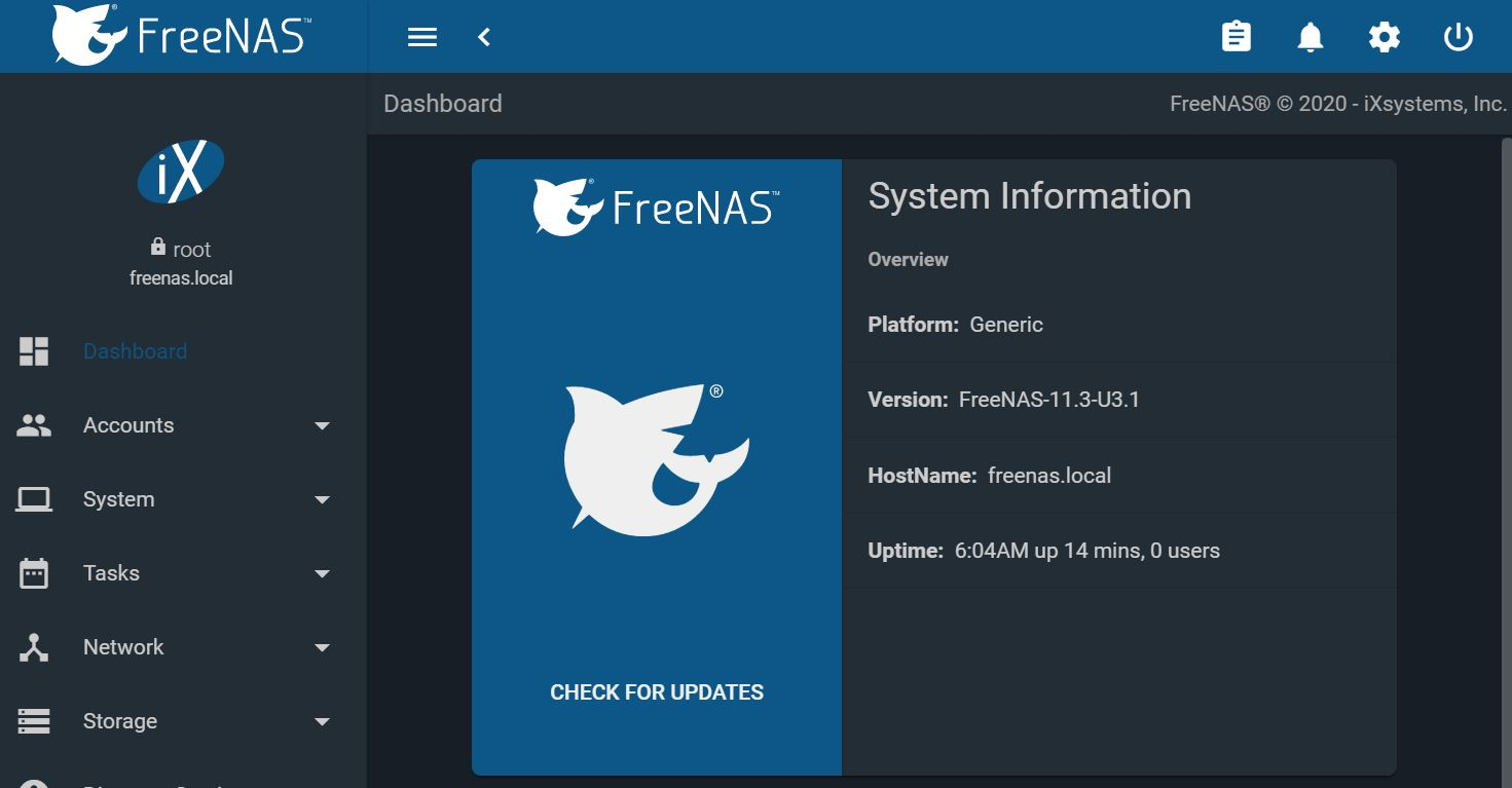 Image of article 'FreeNAS 11.3-U3.1 Out With Major SMB Fix'