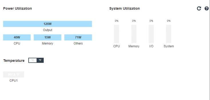 Lenovo SE350 XClarity Power Consumption At Idle