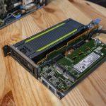 Lenovo ThinkSystem SE350 NVIDIA T4 And Quad M.2 Riser