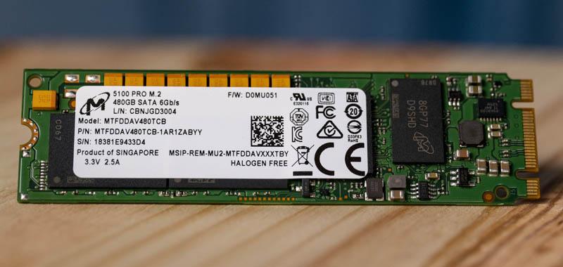 Micron 5100 Pro M.2 480GB SATA SSD
