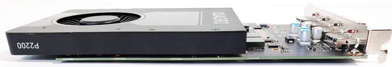 NVIDIA Quadro P2200 Top