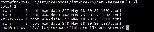 Proxmox VE VM Configuration Files