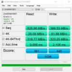 Seagate IronWolf 110 480GB AS SSD Benchmark