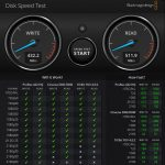 Seagate IronWolf 110 480GB BlackMagicDesign Disk Speed Test Benchmark