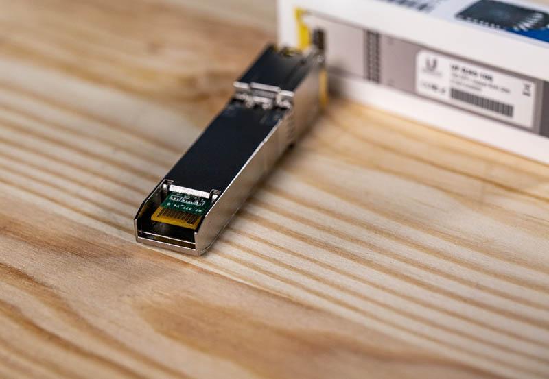 Ubiquiti UF RJ45 10G PCB Connector Side