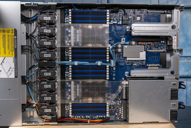 Gigabyte R181 2A0 Internal Overview