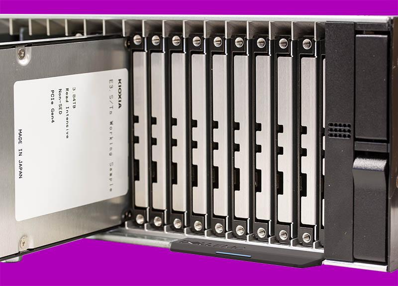 KIOXIA Dell EMC EDSFF Development Cover