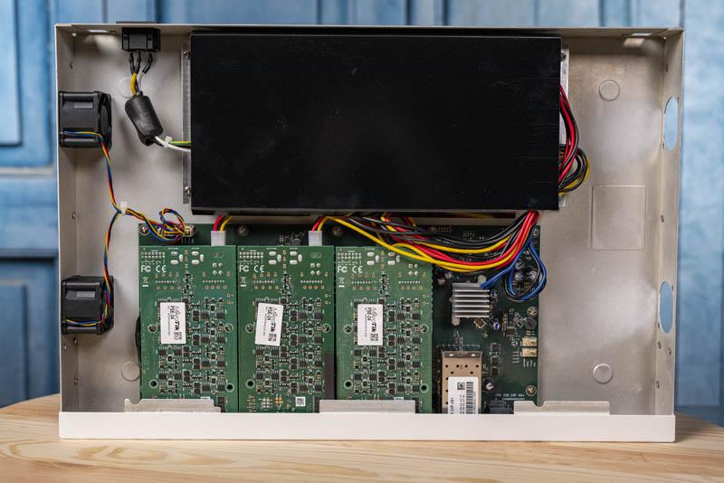MikroTik CRS328 24P 4S+RM Internal Overview