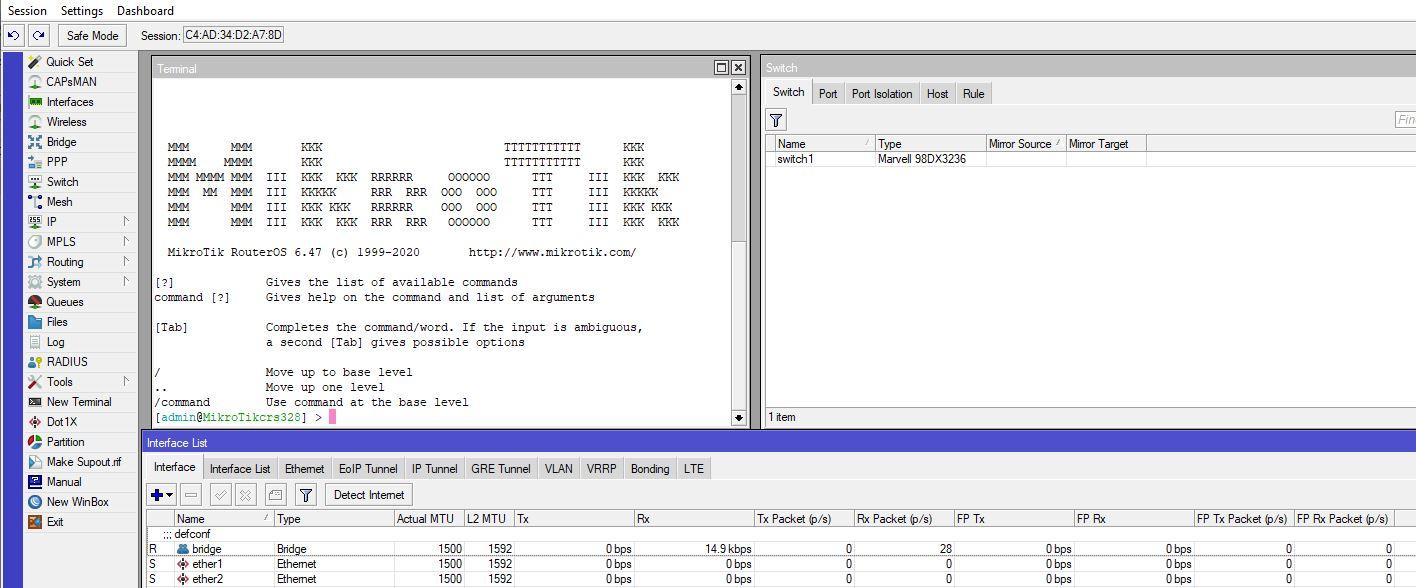 MikroTik CRS328 24P 4S+RM Block Diagram