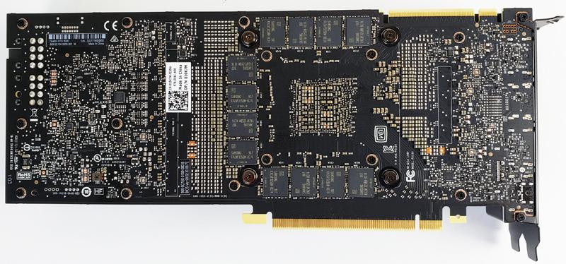 NVIDIA Quadro RTX 8000 NVLINK Back