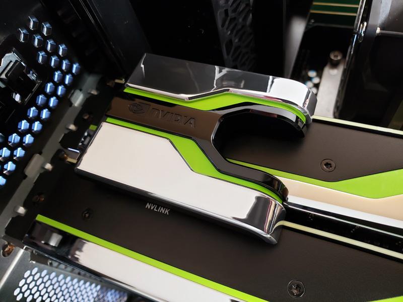 NVIDIA Quadro RTX 8000 NVLINK NVLINK Bridge