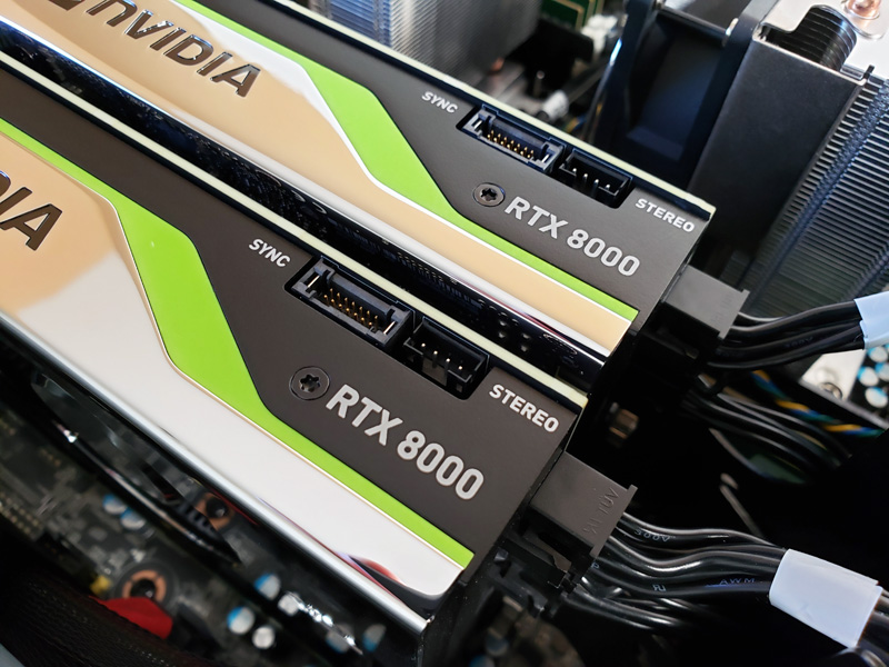 Dual Nvidia Quadro Rtx 8000 Review With Nvlink Performance