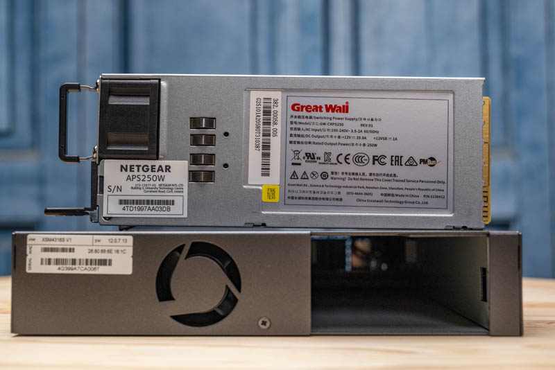 Netgear M4300 8X8F Great Wall Power 250W APS250W PSU